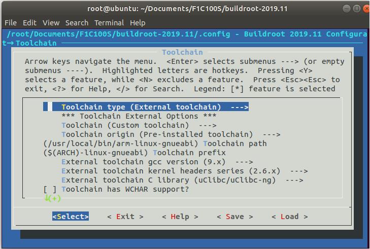 FluxBB bbcode buildroot menuconfig