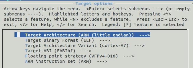 我用全志Allwinner V3s荔枝派zero开发板,请问这是buildroot配置