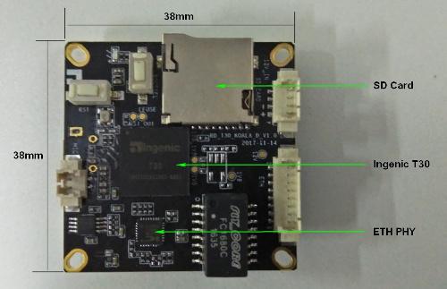 正T30 KOALA H.265智能视频开发平台